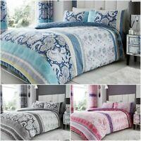Kira Duvet Quilt Cover Bedding Linen Set with Pillow Cases