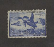 RW19 - Federal Duck Stamp. Single. MH. OG.  #02 RW15mh