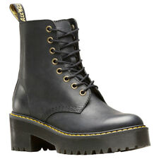 Dr.Martens Womens Boots Shriver Hi Lace-Up Ankle Combat Leather