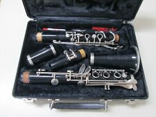 Bundy Resonite Clarinet By Selmer & Hard Carrying Case Nice Complete Condition