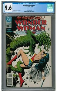 Wonder Woman #92 (1994) Classic Brian Bolland Cover CGC 9.6 CU174