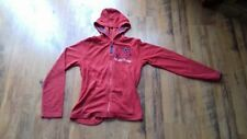 Hello Kitty girls red toweling zipped hoody age 11 to 12