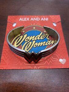 ALEX AND ANI WONDER WOMEN CUFF BRACELET FREE SHIPPING