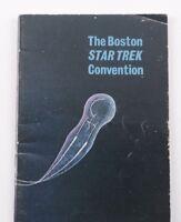 Star Trek Boston 1976 Trekkie convention program Memorabilia lot 8 pcs.