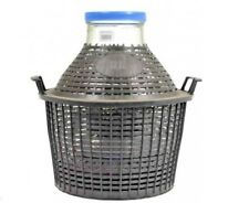 25l - Glass Demijohn Carboy WIDE NECK To Make Wine Home Brewing  Free P&P UK