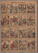 imagerie NOUVELLE VAGNé HISTOIRE de FRANCE PL  12  28x39cm