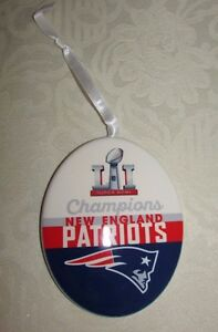 Hallmark Keepsake New England Patriots Super Bowl LI Champions 2017 Ornament
