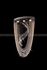 Saint Mossi® Modern Ceiling Lights Crystal Chandelier Pendant Chrome