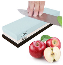 1000# & 4000# 2-Sides Grit Razor Sharpening Stone Oil Stone Whetstone Polishing