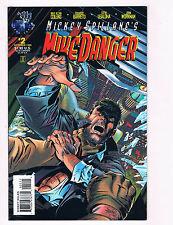 Mike Danger #2 NM Tekno Comix Comic Book Mickey Spillane Collins DE28