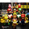 "5"" Nintendo Super Mario Bros Brothers Luigi Toy PVC Action Figures Gift toys"