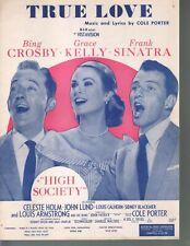 True Love 1956 High Society Bing Crosby Grace Kelly Frank Sinatra