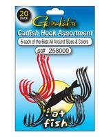 2 per pack Size:5//0 50lb test Lot of 5 Gamakatsu Catfish Circle Rig