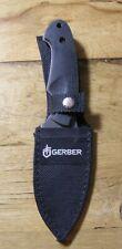 Gerber 1910313A Fixed Blade Knife w/Sheath Gut Hook Fine Blade Edge