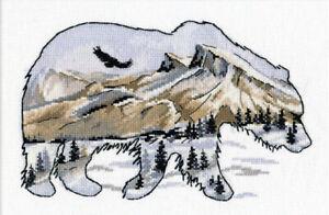 Oven Cross Stitch Kit - Animal World Bear