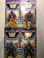 WWE Masters Of The Universe Complete Set Of 4 WAVE 2 RANDY, REY, CENA, ROMAN