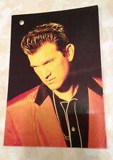 Chris Isaak Vintage Postcard Promo Color 1991 Rock Express Headshot Musician