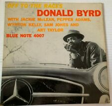 """Donald Byrd Blue Note 4007 """"Off to the Races"""" W.63rd RVG Ear DG Jackie McLean"""