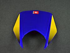 NEW GENUINE DERBI DRD 125/ R HEADLAMP COWL, BLUE 86656300WA75 GB