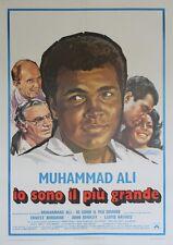 """THE GREATEST"" Affiche originale italienne entoilée (Muhammad ALI)"