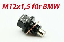 Magnetische Ölablassschraube M12x1.5 Aluminium schwarz eloxiert BMW