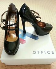 Stiletto Court Shoes Women's Patent Leather OFFICE