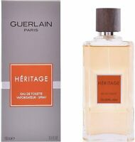 Heritage by Guerlain cologne for Men EDT 3.3 / 3.4 oz New in Box