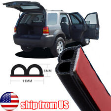 Universal 10m Car Seal Strip Front Rear Trunk Engine Cover Window Soundproof US