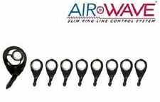 Awb-Set-C American Tackle Airwave Slim Ring Line Control Casting Guide Set Black