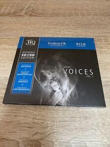 Reference Sound Edition – GREAT VOICES VOL.1 (HDCD) Eingeschweißt NEU