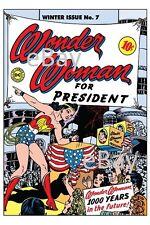 WONDER WOMAN 7 COVER PRINT Wonder Woman for President