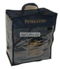 Pendleton Sierra Navy Blue King Blanket Cotton Tribal Inspired Jacquard $249