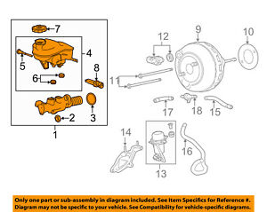 Cadillac GM OEM 13-15 SRX-Brake Master Cylinder 20984169