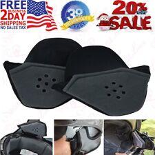 Vega Half Helmet Ear Pads (One-Size) Easy Install Added Warmth Speaker Pockets