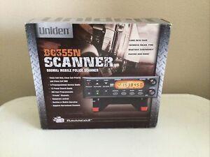 Uniden BC355N Scanner. 800MHz Mobile Police Scanner