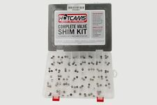 Complete Hotcams valve shim kit for Suzuki RMZ 250 year 2004-2016 valve shim kit