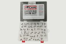 Complete Hotcams valve shim kit for Honda CBR 1100XX year 1997-2003 bike shims
