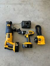 Dewalt Tools , Batteries And A Charger