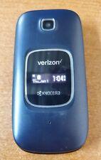 Kyocera Cadence S2720 4G VoLTE Blue (Verizon) Flip Phone Page Plus FREE GIFT
