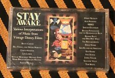 STAY AWAKE DISNEY MUSIC CASSETTE SEALED - Snow White Dumbo Pinocchio Bambi & Etc