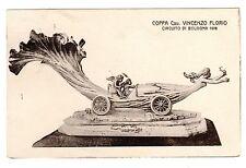 POSTCARD ITALIAN 1908 AUTO RACING TROPHY COPPA FLORIO BOLOGNA
