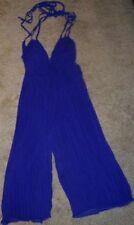 ASOS Jumpsuit Purple Pleated Halterneck Misses size 2 New