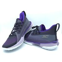 Under Armour Curry 7 IWD Basketball International Women's Day Violet Purple 7Y