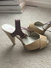 miss sixty size 3 shoes