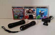 *Top* PlayStation Move Set mit 2 Controllern, 2 Spielen, Starterdisc & Kamera