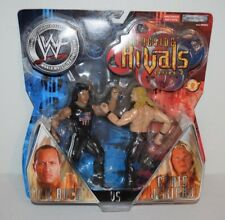 Vtg WWF Ringside Rivals Series 2 The Rock VS Chris Jericho W93210 WWE NEW Action