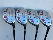 iDrive Made Hybrids #3 #4 #5 #6 Taylor Fit SENIOR Graphite Rescue Iron Woods