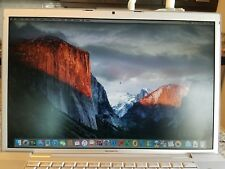 "17"" MacBook Pro Core2Duo Late 2007- 2.4GHz El Capitan 4GB 200GB-FREE Photoshop"