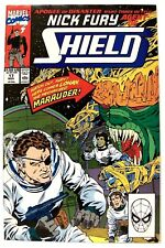 """NICK FURY, AGENT OF SHIELD""  Issue # 17 (Nov, 1990) (Marvel Comics)"