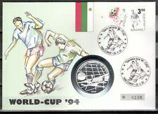 Bulgarien Numisbrief  Silber (6421 - Fußball -WM 1994)